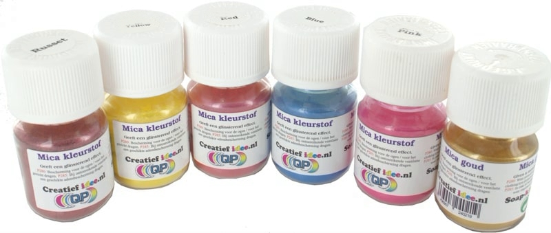 Mica dyes