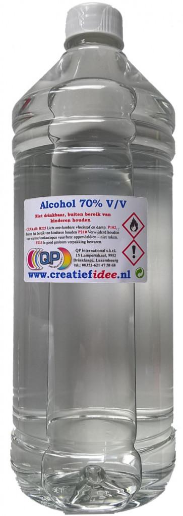 Surgical alcohol (70% 1% IPA, 1% MEK en Bitrex) refill 1 liter