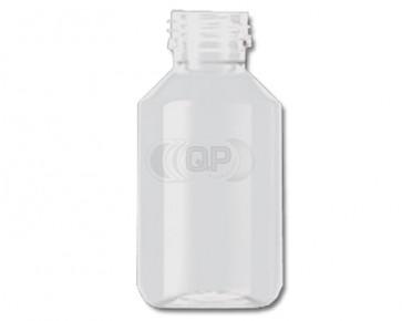 100ml transparent plastic bottle 28mm opening