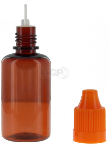 30ml amber plastic bottle + cap & dropper (child safe)