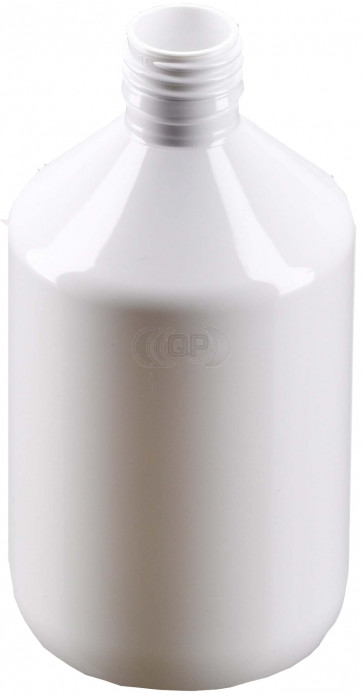 250ml white plastic bottle 28mm opening