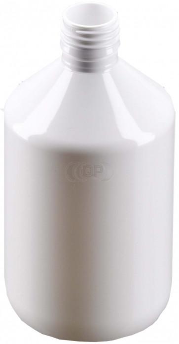 500ml white plastic bottle 28mm opening