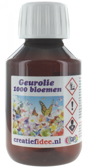 Perfume / Fragrance oil 1000 flowers 1000ml (Decoration only)
