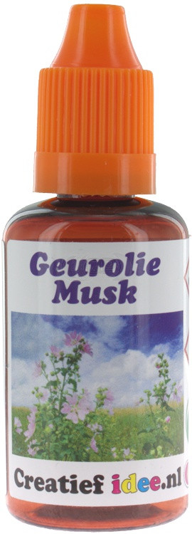 Perfume / fragrance oil Musk 30ml (Decoration only)