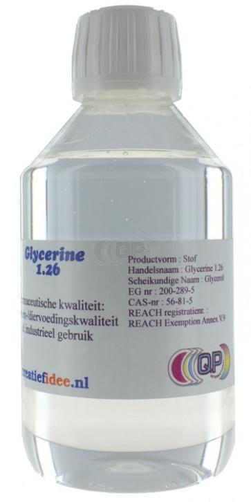 Liquid glycerine 1.26 Food grade 630 gram (500 ml)