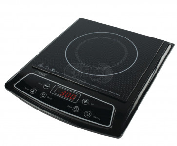 Temperature controlled induction coocker. Always your soap on temperature.