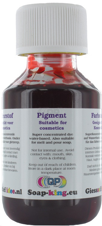 Pigment Red 100ml (cosmetics suitable)