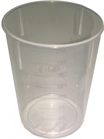 Measuring cup 200ml flexible, perfect to mix