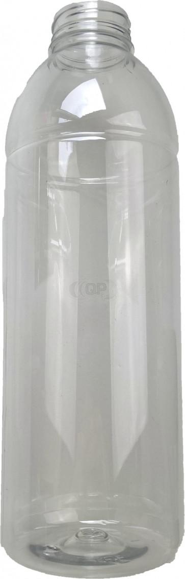 1000ml transparent plastic bottle 38mm opening