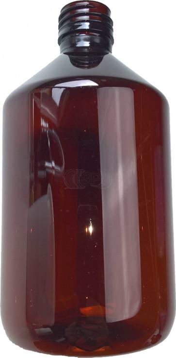 500ml amber plastic bottle cap / ropp 28