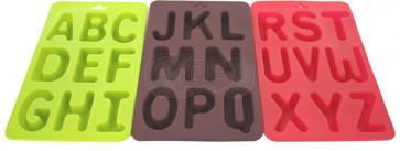 QP0003S silicone mold: alphabet