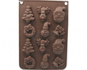 QP0050S silicone mold: winter mold 3