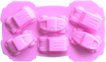 QP0011NS silicone mold: cars
