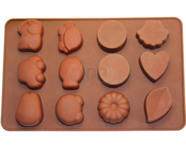 QP0035S silicone mold: Chocolates 1