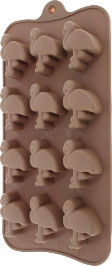 QP0036NS silicone mold: Flamingo