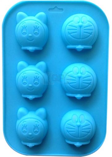 QP0072S silicone mold: Faces (cartoon)