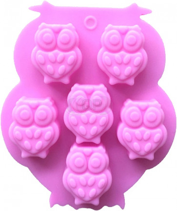 QP0085S silicone mold: Owl