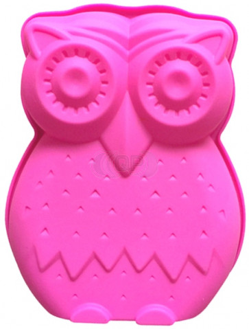 QP0095S silicone mold: Owl large