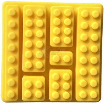 QP0102S silicone mold: Building block
