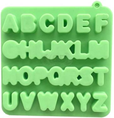 QP0110S silicone mold: Alphabet
