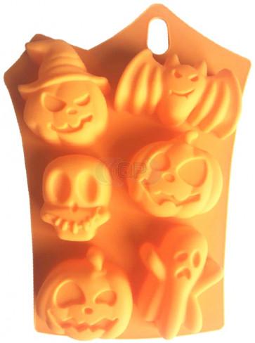 QP0116S silicone mold: Halloween