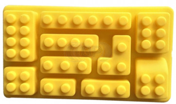 QP0119S silicone mold: Building block
