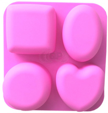QP0121S silicone mold: Shapes / heart