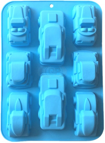 QP0123S silicone mold: Cars