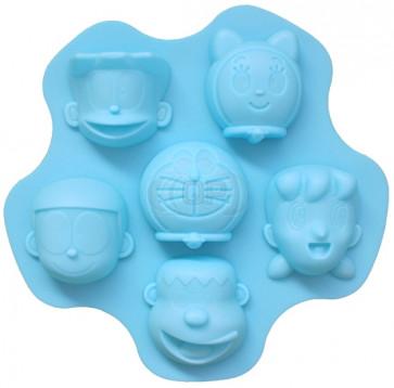 QP0126S silicone mold: Faces (cartoon)
