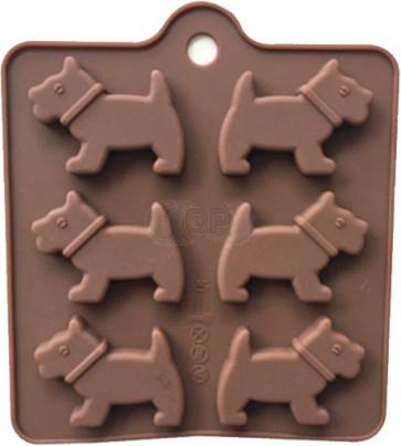 QP0131S silicone mold: Dog