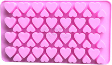 QP0140S silicone mold: Hearts