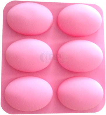 QP0142S silicone mold: Egg shape
