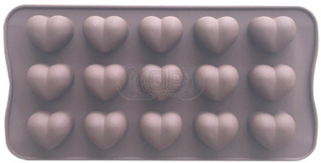 QP0148S silicone mold: Hearts