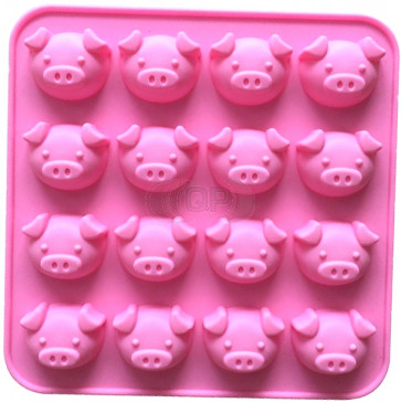 QP0163S silicone mold: Pigs
