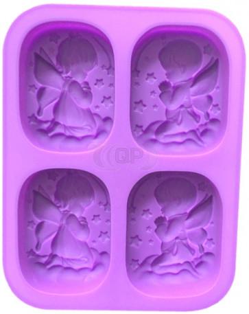 QP0167S silicone mold: Praying child