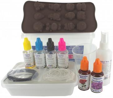 Glycerin melt and pour soap start set  2: premium