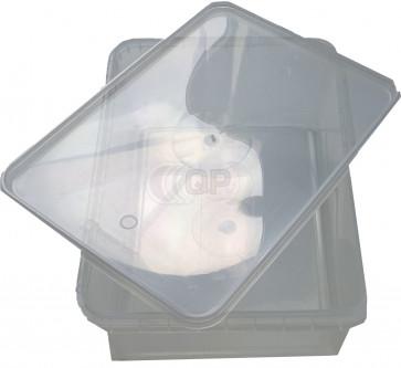 Plastic container 1000 ml + cap 25 pieces