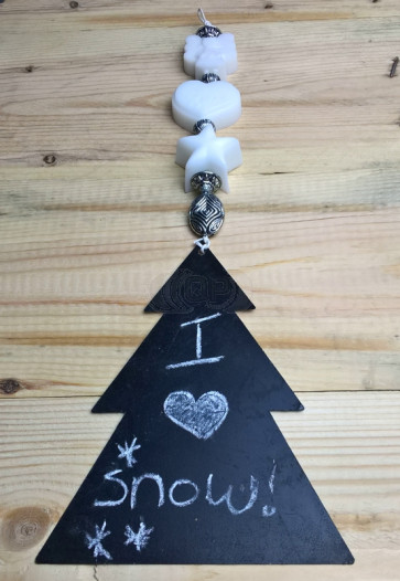 Metal (zinc) (Christmas) tree 15cm