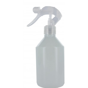 Trigger spray bottle 250ml white 28mm