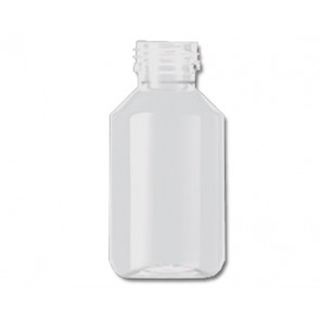 100ml transparent plastic bottle 28mm opening
