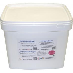 Glycerin melt and pour soap base non-scented 11,5 kilo white