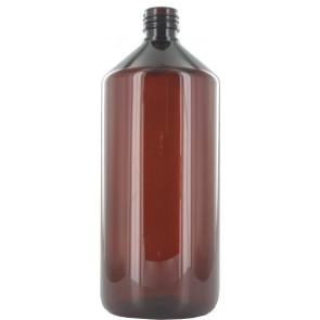 1000ml amber plastic bottle 28mm opening