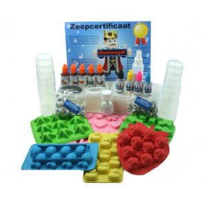 Children glycerin melt and pour Soap chain package up to 12 children