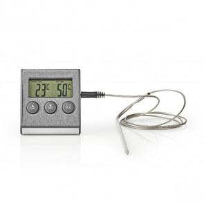 Thermometer, monitor the soap temperature