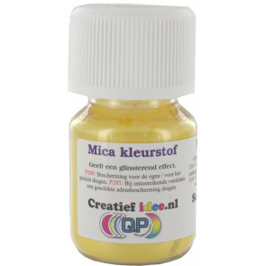 Mica pigment Caribian Yellow powder 20ml