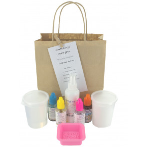 Glycerin melt and pour soap gift set