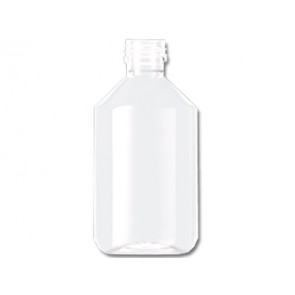 250ml transparent plastic bottle cap / din 28