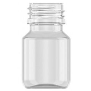 30ml transparent plastic bottle 28mm opening
