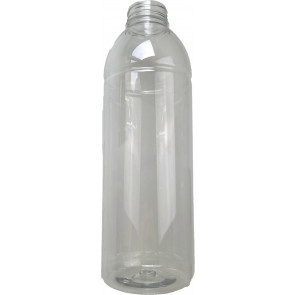 500ml transparent plastic bottle 38mm opening