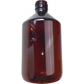 500ml amber plastic bottle cap / ropp 28